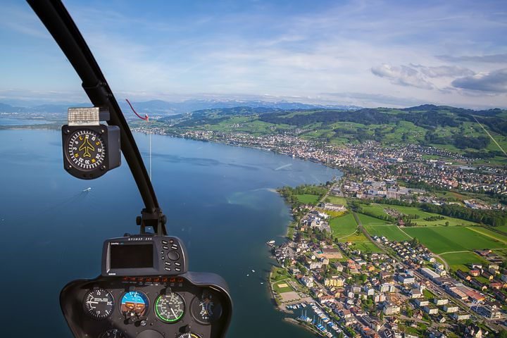 helicopter view