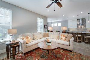 home interior with designer homewares